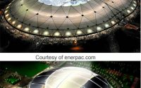 Tensegrity and the Transformable Stadia Roof Structures