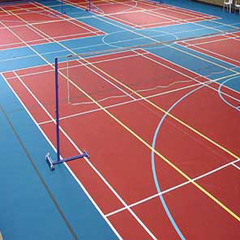 Acrylic Systems in Sports Area